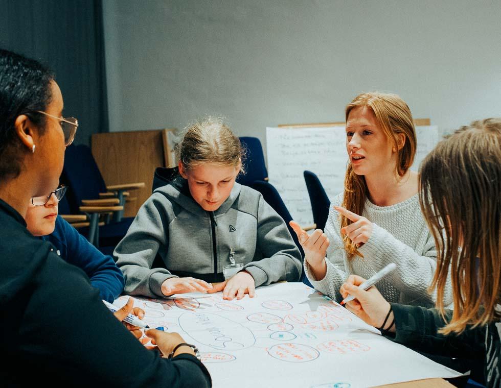 Børn under uddannelse i Hjørring Kommune