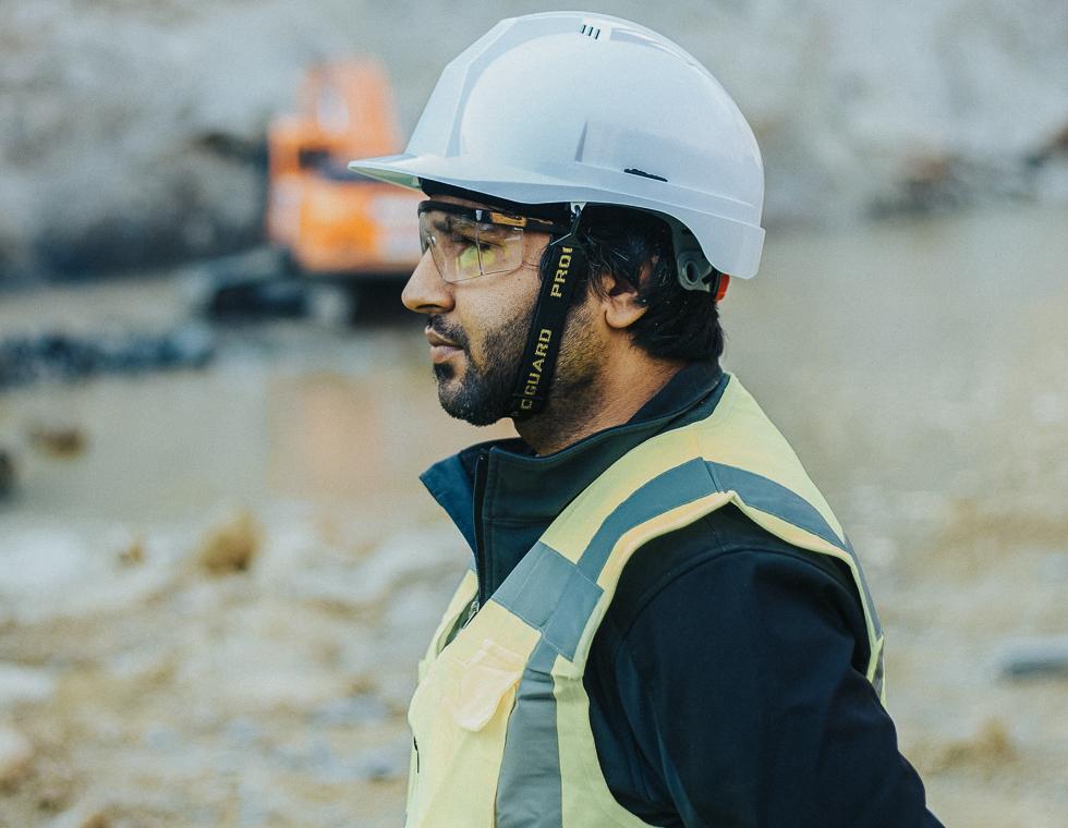 Byggeleder har job i Hjørring på en byggeplads